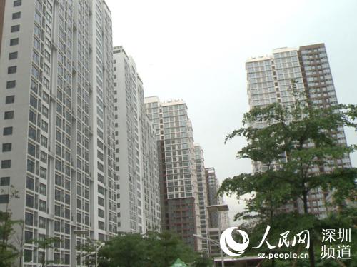 """深圳最大规模保障房项目""""龙海家"""
