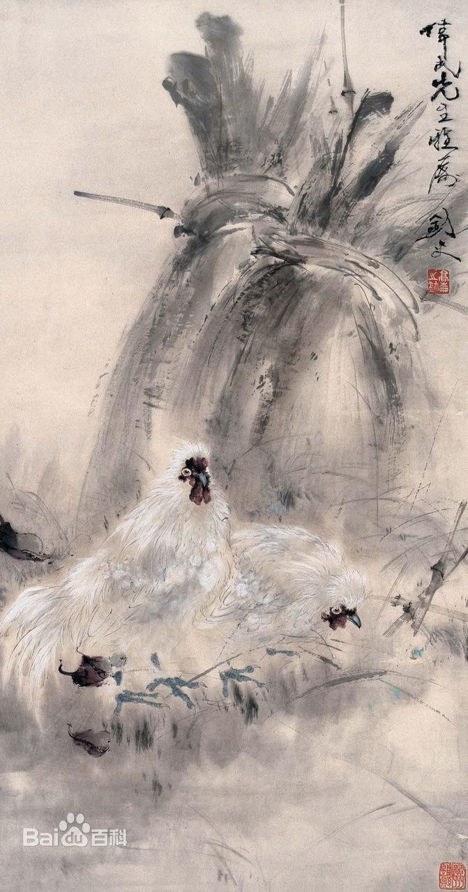 岭南画派创始人高剑父作品欣赏图片