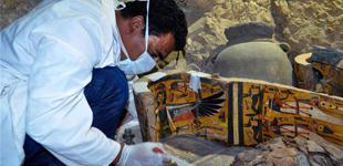 埃及发现6具木乃伊