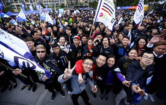 2017年深圳城市定向赛举行 近千支队伍参加