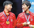 """深圳选手获世乒赛冠军        林高远在随队""""登顶""""的同时,也成为首夺世乒赛冠军的深圳本土选手。"""