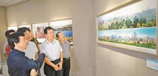 纪念深圳改革开放40周年成就摄影展举办