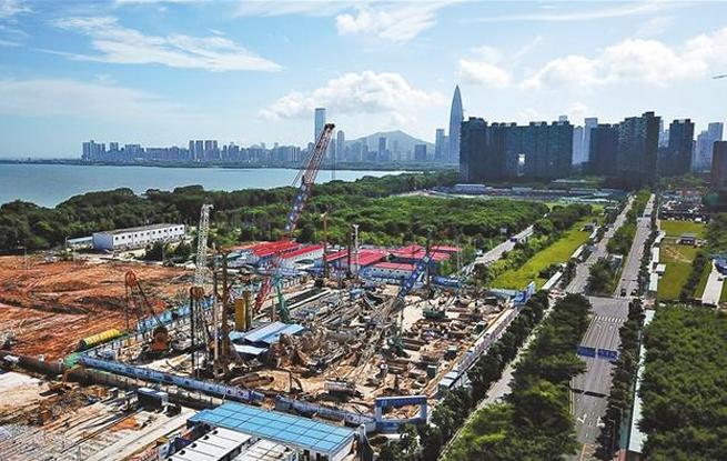 深圳湾总部基地建设提速
